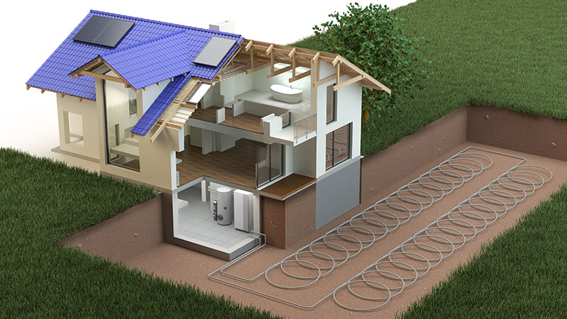 geothermal heating contractor eugene
